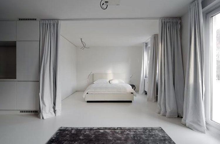 Шторы для зонирования комнаты