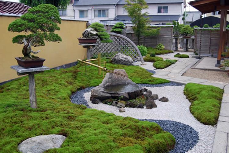 Ландшафтный дизайн в стиле японский сад