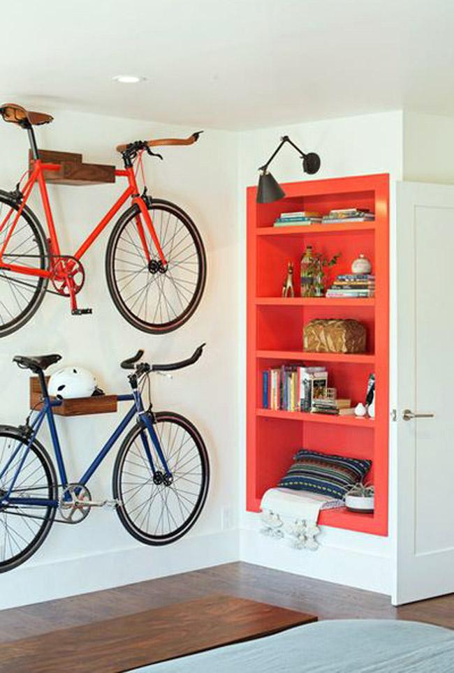 Велосипед дизайн комнаты