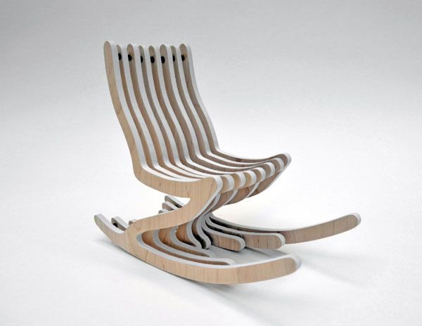 деревянное кресло качалка это кресло качалку дизайнера седена